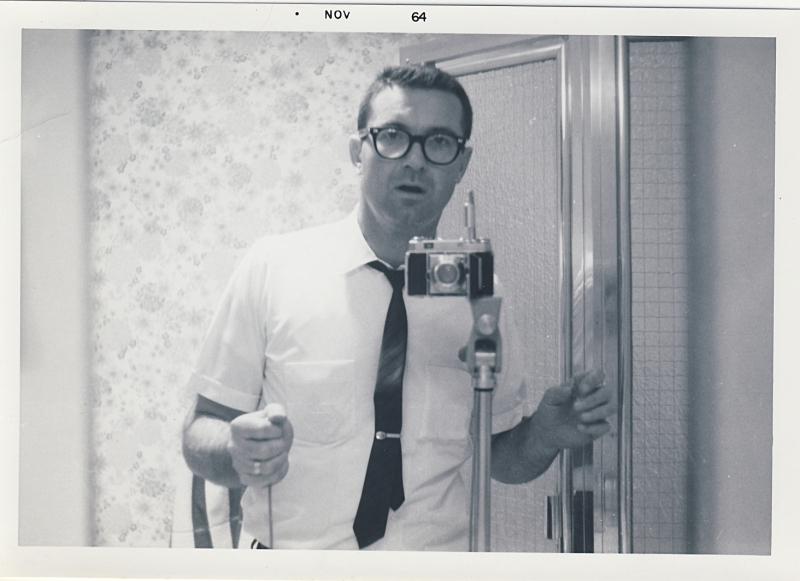 Dad Selfie 1964