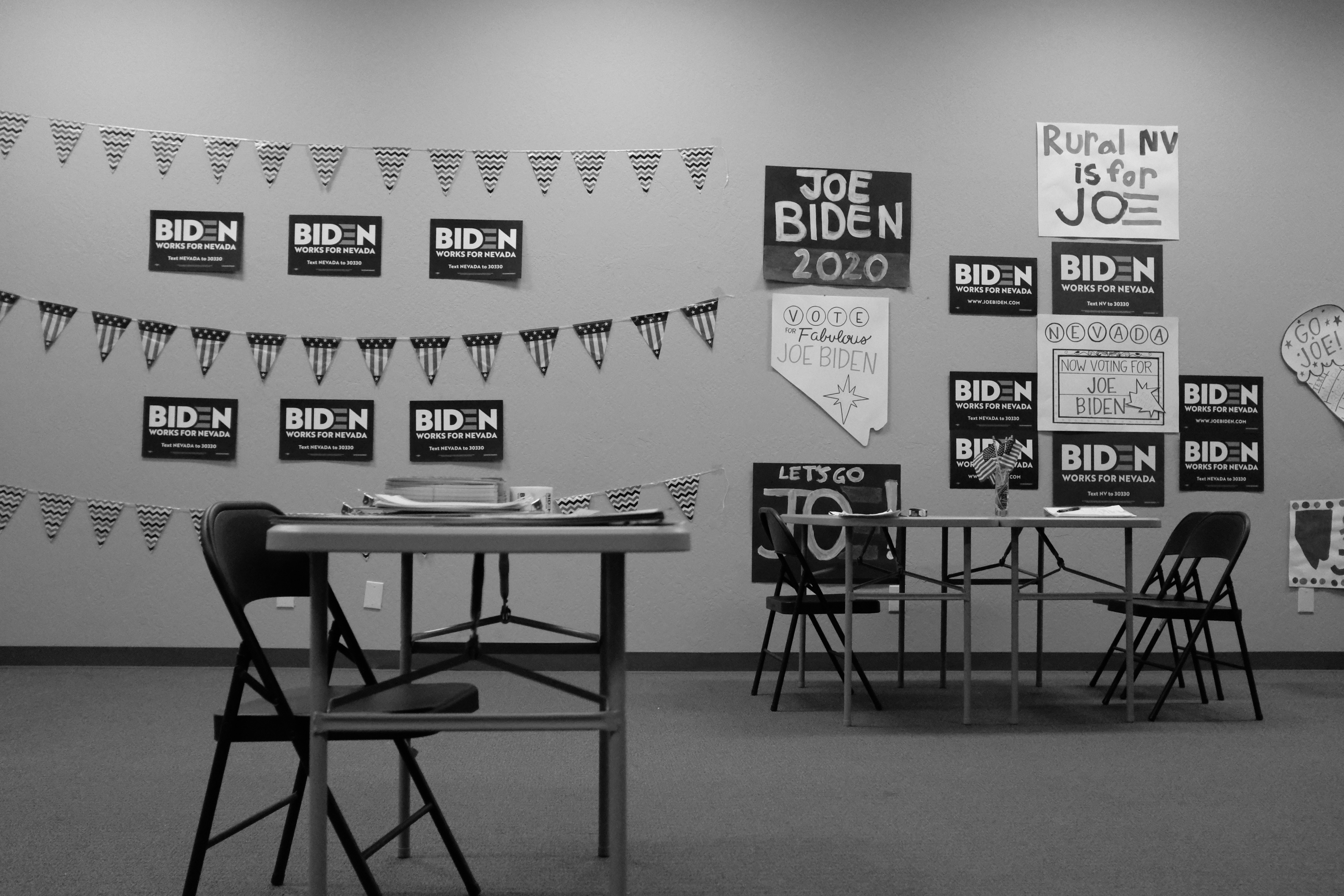 Biden Office BW
